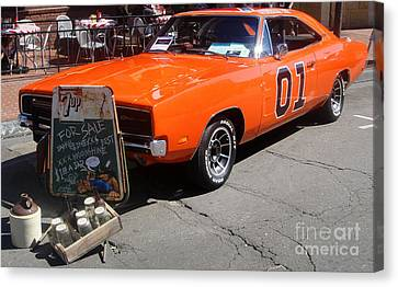 General Lee Canvas Print by Gregory Dyer