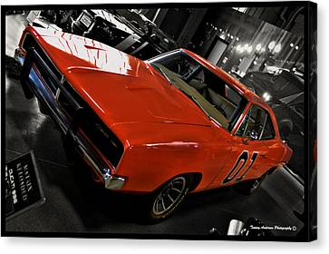 General Lee Canvas Print by Tommy Anderson