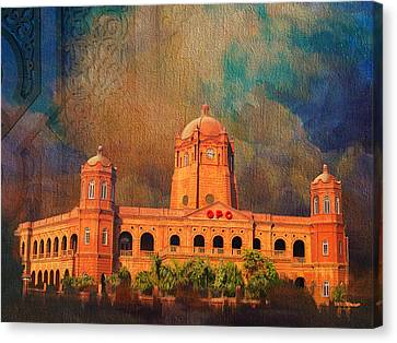 Baltit Canvas Print - General Post Office Lahore by Catf