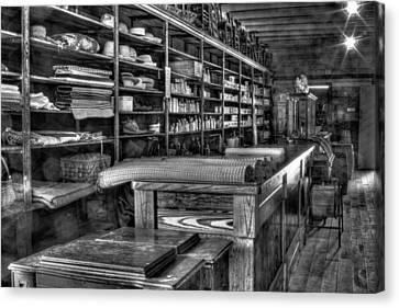 Canvas Print featuring the photograph General Store by Dawn Currie