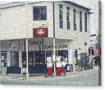 General Store Canvas Print by Dennis Buckman
