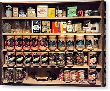 Canvas Print featuring the photograph General Store Goods by Vicki DeVico