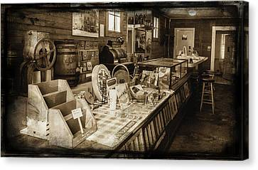 General Store Canvas Print by Lisa and Norman  Hall