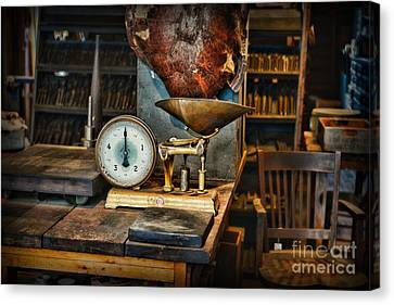 General Store Scale Canvas Print by Paul Ward