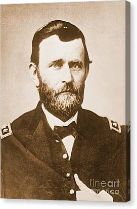 General Ulysses Grant C1865 Canvas Print by Padre Art