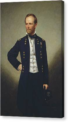 General Concept Canvas Print - General William T Sherman by Mountain Dreams