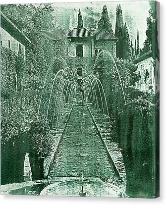 Generalife The  Alhambra Palace Canvas Print