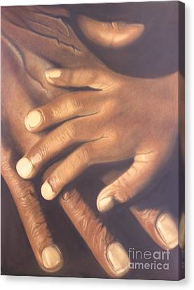 Canvas Print featuring the pastel Generation To Generation by Wil Golden