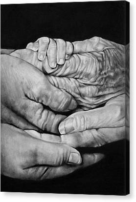 Cj Canvas Print - Generations by Curtis James