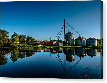 Genesee Mill Canvas Print