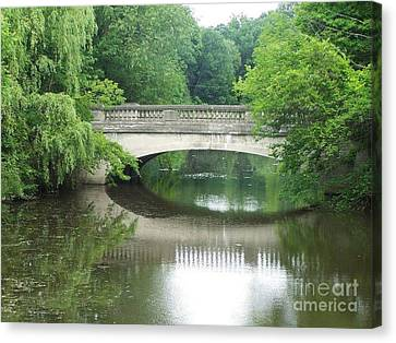 Genesee Valley Bridge Canvas Print by Charlotte Gray