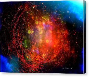 Genesis Canvas Print by Edgar Torres