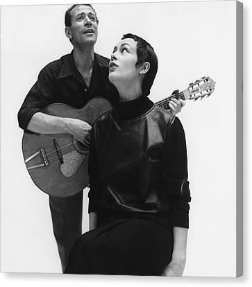 Genevieve And Luc Poret Canvas Print
