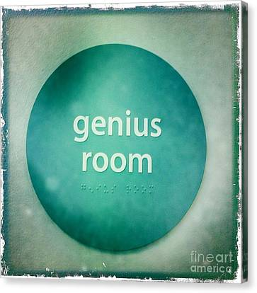 Canvas Print featuring the photograph Genius Room by Nina Prommer