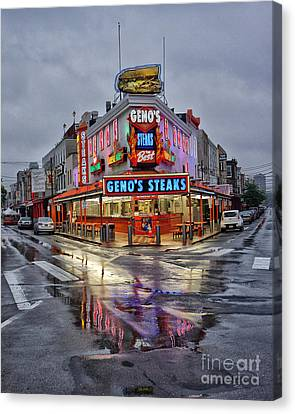 Geno's 7 Canvas Print by Jack Paolini