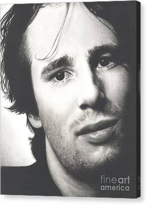 Gentle And Kind -- Jeff Buckley Canvas Print by N Faulkner