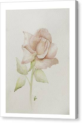 Gentle Grace Canvas Print by Nancy Edwards