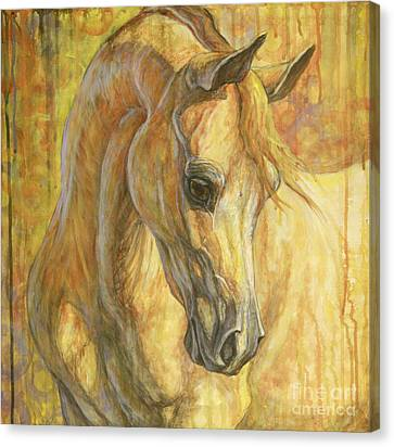 Gentle Spirit Canvas Print by Silvana Gabudean Dobre
