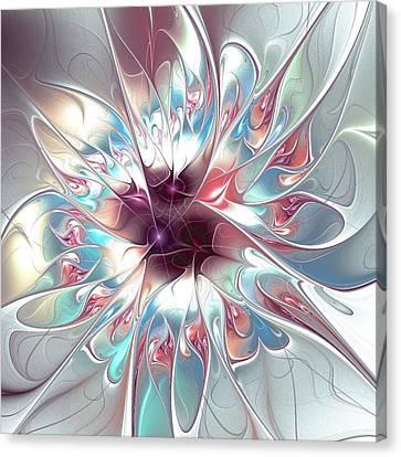 Gentle Touch Canvas Print by Anastasiya Malakhova