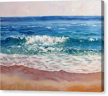 Gentle Wave Canvas Print by Bonnie Mason