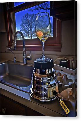 Gentlemen Start Your Blenders Canvas Print by Mark Miller