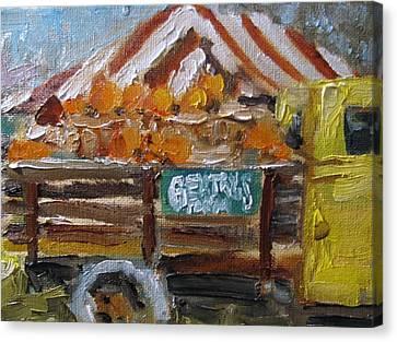 Gentrys Farm Canvas Print by Susan E Jones