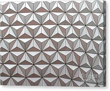 Geodesic Canvas Print by Sabrina L Ryan