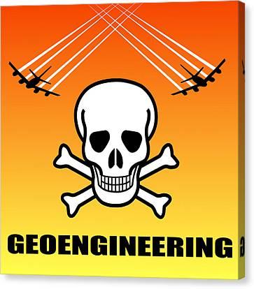 Geoengineering Hazards Canvas Print by Daniel Hagerman