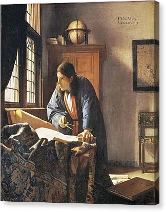 Geographer, 1669  Canvas Print