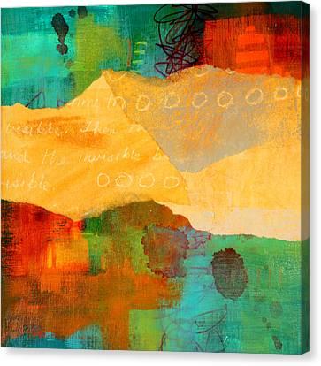 Contrast Canvas Print - Geography by Nancy Merkle