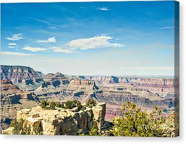 Geologic Beauty Canvas Print by Tod and Cynthia Grubbs