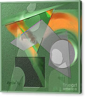 Geometrca 240 Canvas Print by Nedunseralathan R