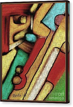 Geometrca 292 Canvas Print by Nedunseralathan R