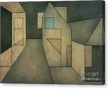 Geometric Abstraction II Canvas Print by David Gordon