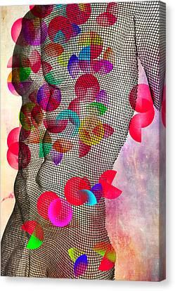 Geometric Body  Canvas Print by Mark Ashkenazi