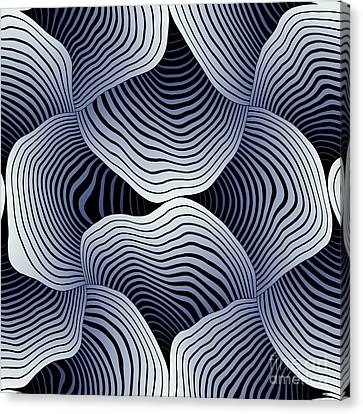 Geometric Gymnastic - S01-02a Canvas Print