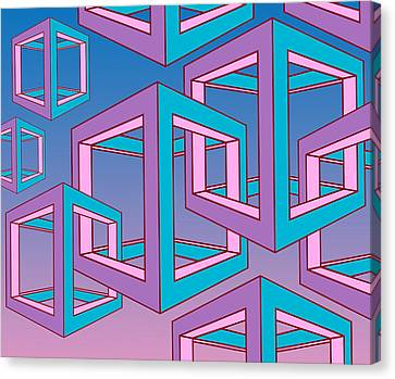 Geometric  Canvas Print by Mark Ashkenazi