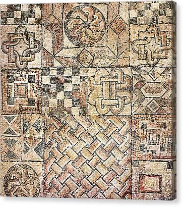 Geometric Mosaic Patterns Canvas Print by Sheila Terry