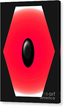 Geometric Shape Abstract 9 Canvas Print by Tina M Wenger