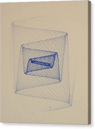 Geometry Canvas Print by Jeremy Johnson