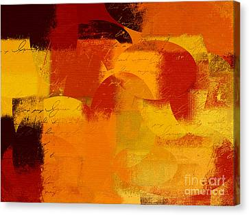 Geomix 05 - 01at01b Canvas Print by Variance Collections