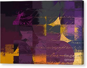 Plum Canvas Print - Geomix 07 - 064097167 by Variance Collections