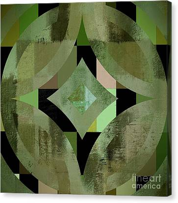 Geomix 12 - 01gbl3j4994100 Canvas Print by Variance Collections