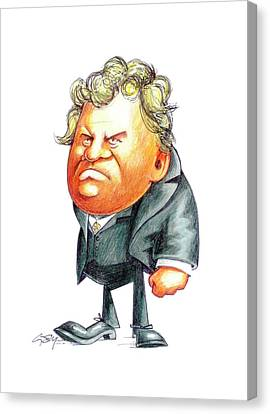 Georg Ohm Canvas Print by Gary Brown