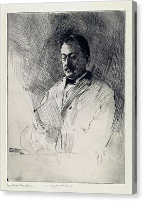 George Agassiz Canvas Print