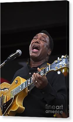 George Benson Sings Canvas Print