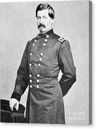 George Brinton Mcclellan Canvas Print by American School