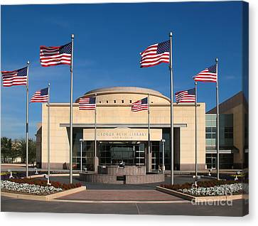 George Bush Presidential Library - College Station Texas Canvas Print
