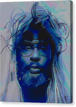 George Clinton Canvas Print by  Fli Art