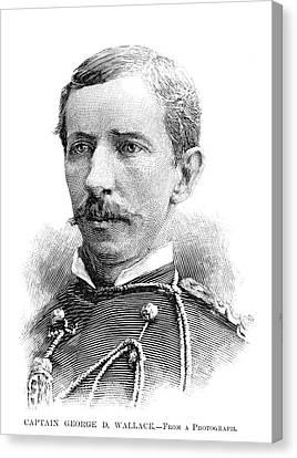 George D Canvas Print
